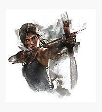 Lámina fotográfica Tomb Raider Painting