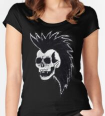 CRAZY MOHAWK Women's Fitted Scoop T-Shirt