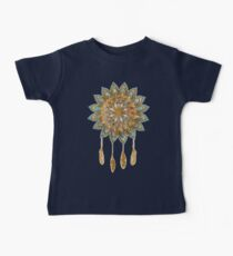 Golden Dreams Dreamcatcher Baby Tee