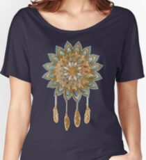 Golden Dreams Dreamcatcher Women's Relaxed Fit T-Shirt