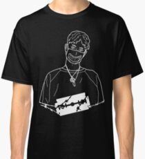 Wire Bladee Outline Classic T-Shirt