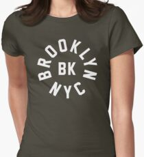 BROOKLYN - NYC Womens Fitted T-Shirt