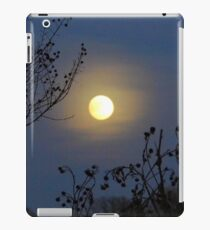 Framing The Snow Moon iPad Case/Skin
