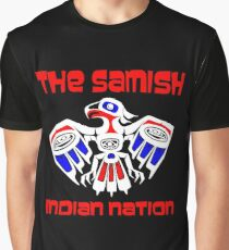 Samish Indian Nation Graphic T-Shirt