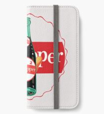 DR. PFEFFER 5 iPhone Flip-Case/Hülle/Skin