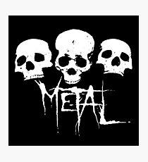 METAL Photographic Print