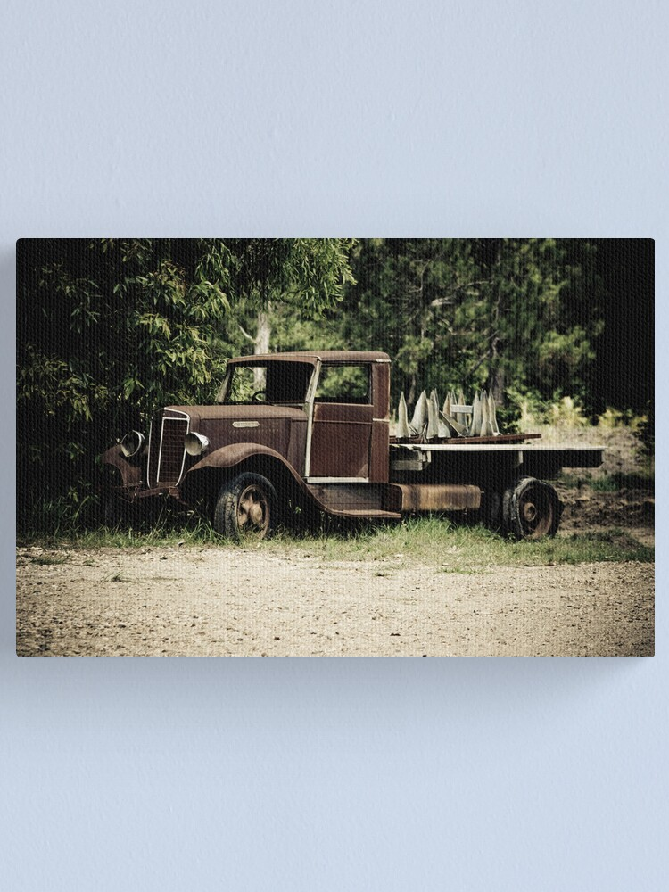 Alternate view of Keep on Trucking Canvas Print