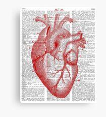 Passionate Heart Canvas Print