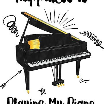 Playing My Piano by berwies