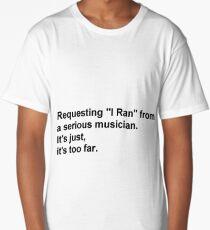 La La Land - Sebastian Quote Long T-Shirt