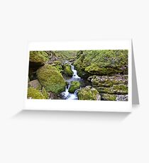 Moine Panorama Greeting Card