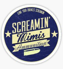 Screamin' Mimis Ammo  Sticker