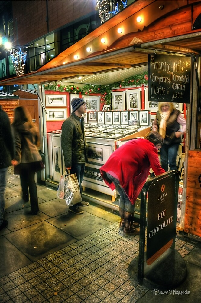 Christmas Market by Mark  Swindells