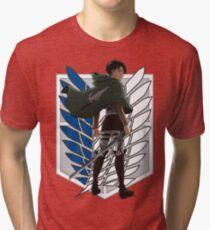 Shingeki no kyojin Tri-blend T-Shirt