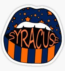 Syracuse Lips Sticker