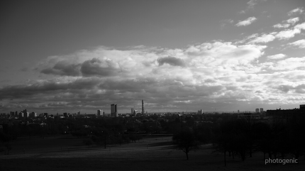 London view from Primrose Hill 2 by photogenic