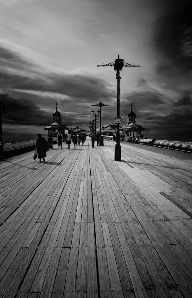 Along the Pier by Mark  Swindells
