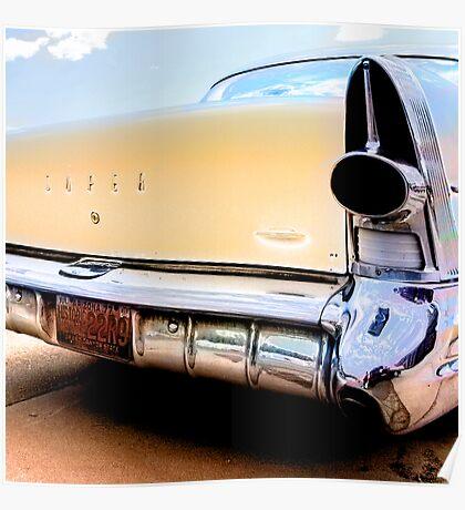 super duper, route 66, arizona Poster