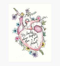 A Big Heart Art Print