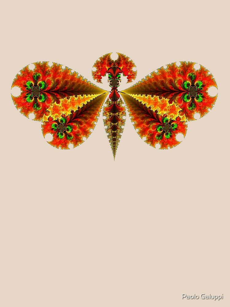 Fractal Butterfly by paoloart
