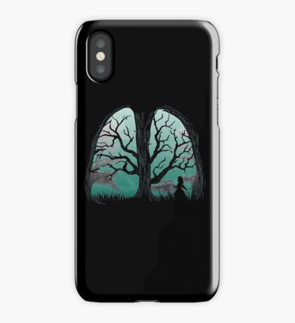A breath of fresh air iPhone Case/Skin