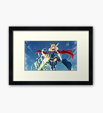 Saber- Goddess of war Framed Print