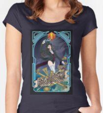 Trickster Tarot The Magician Women's Fitted Scoop T-Shirt