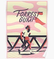 Forrest Gump - Alternate Movie Poster Art Poster