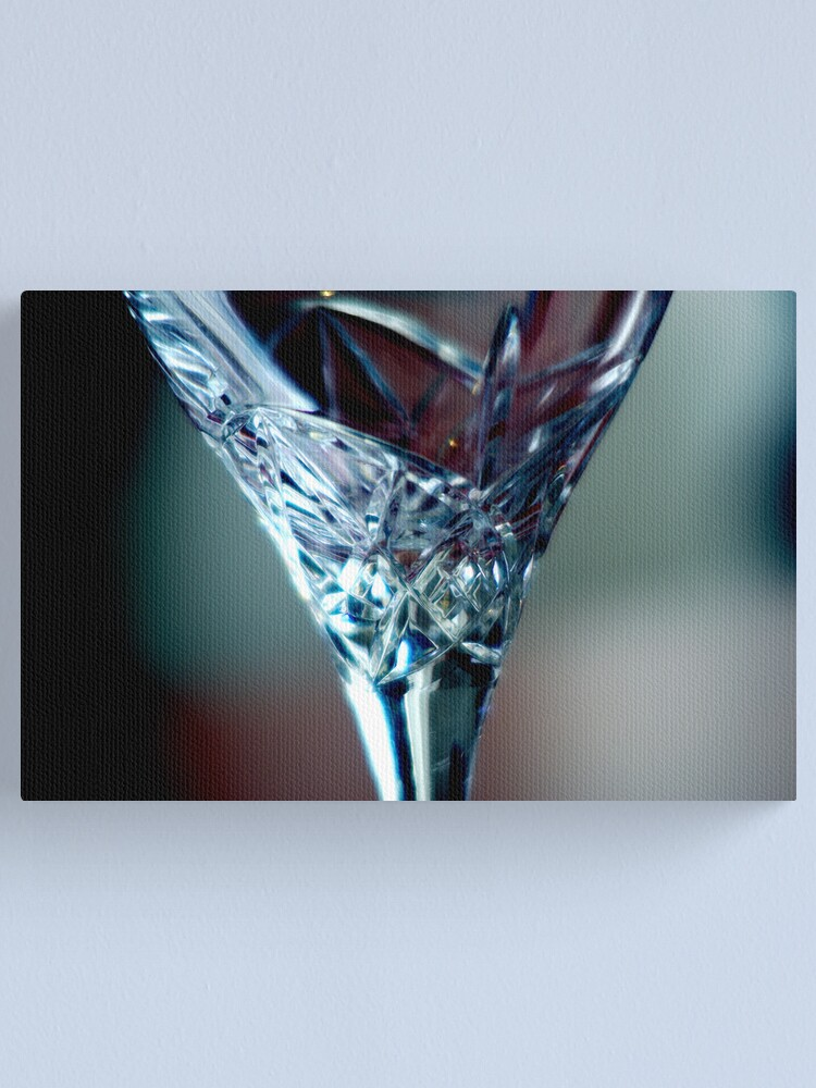Alternate view of Empty Glass Canvas Print