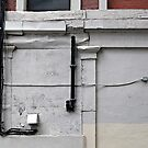 Wall with Cables by Ethna Gillespie