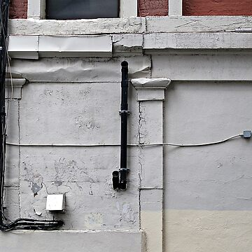 Wall with Cables by ethna