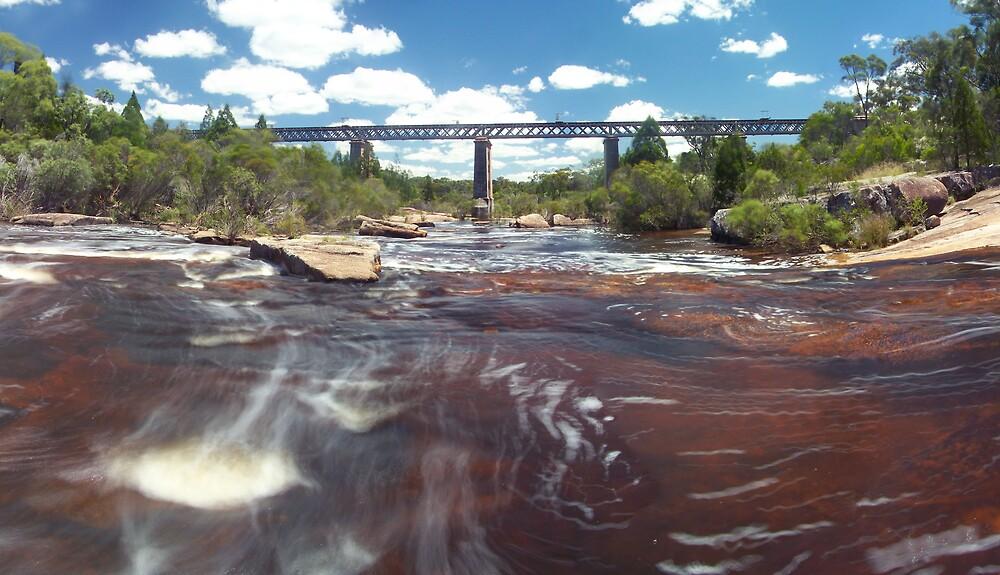 Red Bridge by aperture