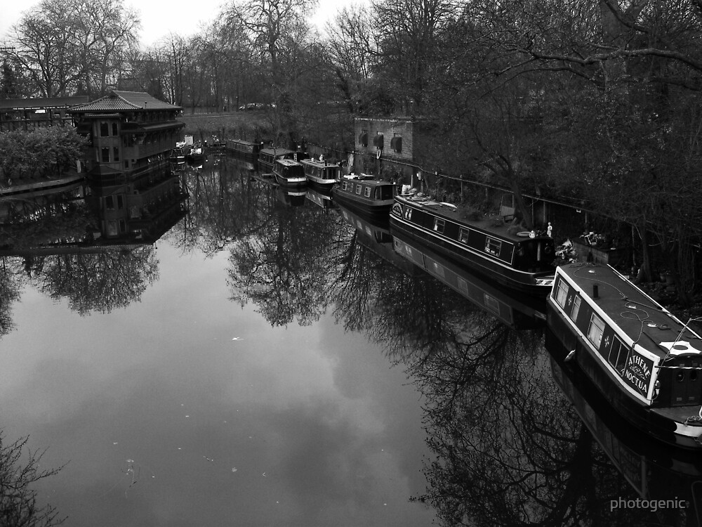 boat houses, london by photogenic