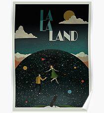 La La Land - Planetarium Movie Style Poster Poster