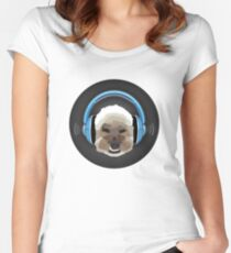 Dog Jams Women's Fitted Scoop T-Shirt