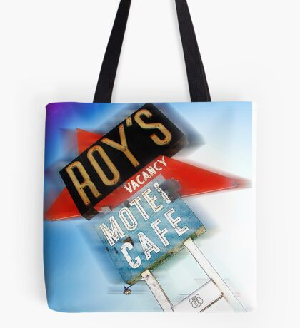 roy's, route 66, california Tote Bag