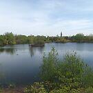 Jersey City Reservoir, Jersey City, New Jersey by lenspiro