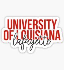 University of Louisiana Lafayette - Style 13 Sticker