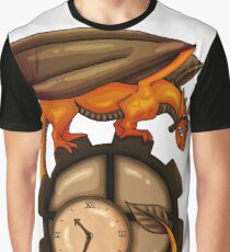 Steampunk Dragon Graphic T-Shirt