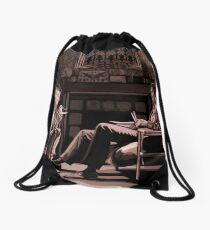 Back at 221b Drawstring Bag