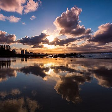 Mirrored Sunset by drec