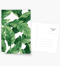 Postales Tropical banana leaves II