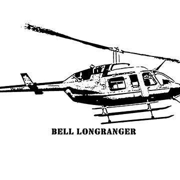 Bell LongRanger  by PrecisionHeli