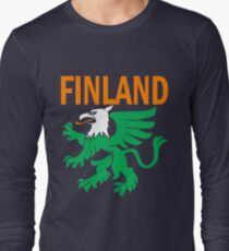 FINLAND-GRYPHON Long Sleeve T-Shirt