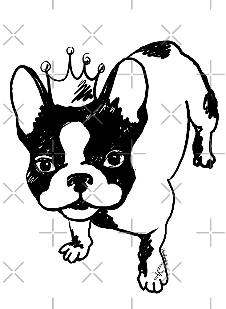 French bulldog by Pendientera