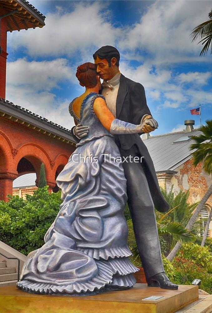 Key West Ballroom Dancers by Chris Thaxter