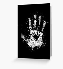 White Hand of Saruman Greeting Card
