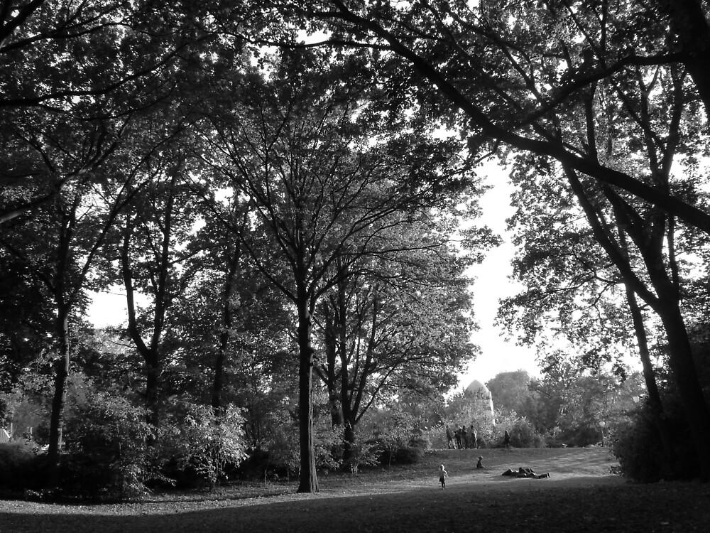 Tiergarten - B&W by Lil-Senzel