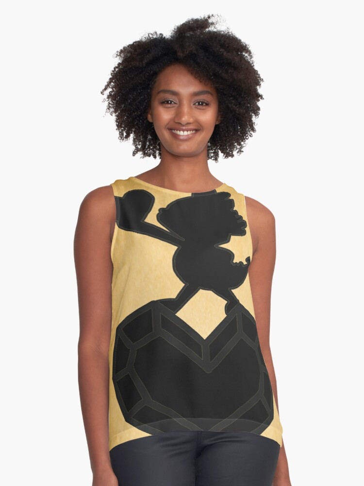 Brave and Glorious Contrast Tank Front