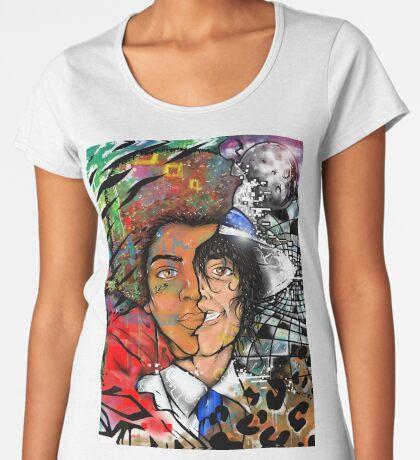 King of Pop Women's Premium T-Shirt